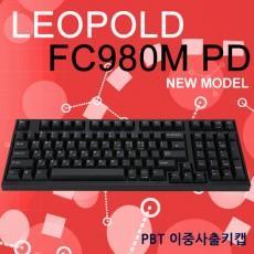 레오폴드 FC980M PD 블랙 레드(적축) 한글