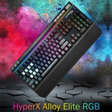 HyperX Alloy Elite RGB 키보드 영문 넌클릭(갈축)