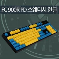 레오폴드 FC900R PD 스웨디시 블랙 한글 레드(적축)