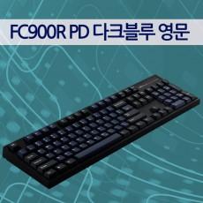 레오폴드 FC900R PD 다크블루 영문 레드(적축)