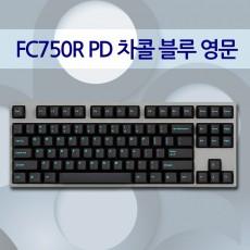 FC750R PD 차콜 블루 영문 클릭(청축)