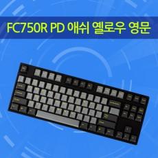 FC750R PD 애쉬 옐로우 영문 클릭(청축)