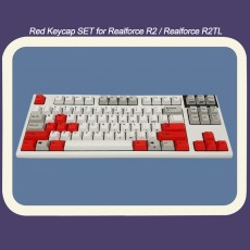 Realforce R2&R2TL 호환 Red 포인트 키캡 SET