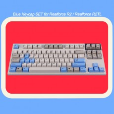 Realforce R2&R2TL 호환 Blue 포인트 키캡 SET