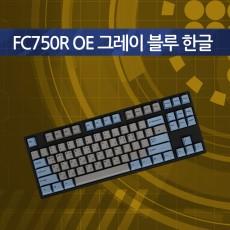 FC750R OE 그레이 블루 한글 리니어흑축