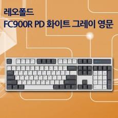 FC900R PD 화이트 그레이 영문 레드(적축)