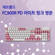 레오폴드 FC900R PD 라이트 핑크 영문 클리어(백축)